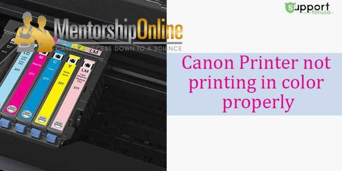 Why is my Canon Printer Not Printing the Correct Colors?