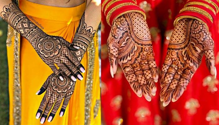 unlimited mehndi designs for karwa chauth with pictures, videos