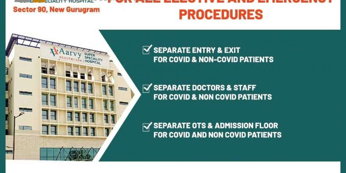 Aarvy Healthcare Super Speciality Hospital is all-set for treating non-COVID patients